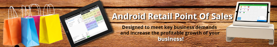 Android Retail POS Banner